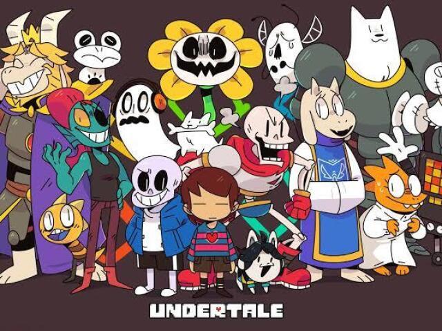 Adivinhe o nome desses personagens de Undertale