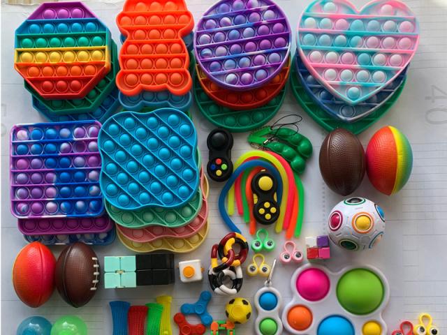 Escolha sua coleção de Fidget toys!