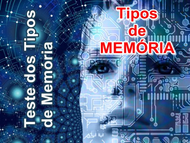 Teste dos Tipos de Memória (TTM)