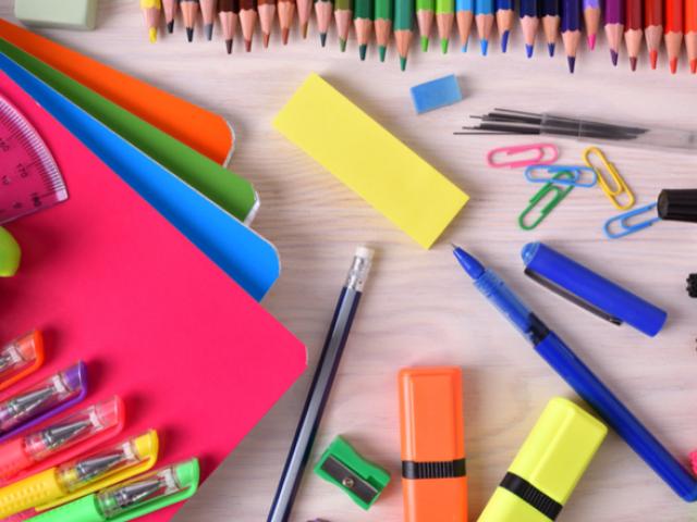Monte seu material escolar perfeito!
