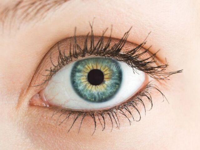 De que famoso é esse olho?