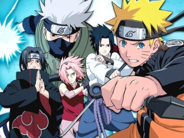 Você conhece o Naruto e o Sasuke?