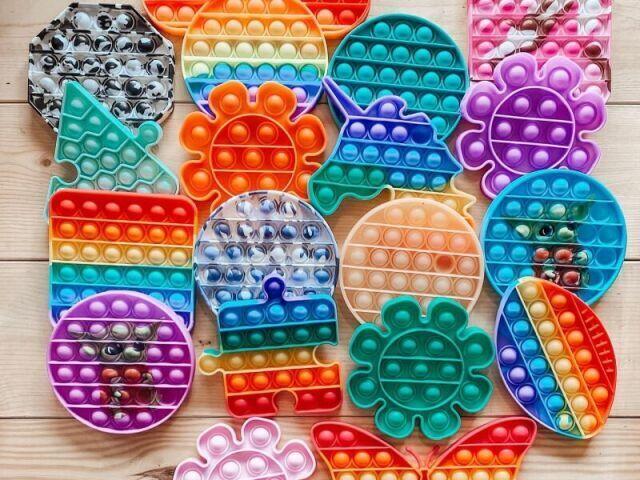 Monte seu kit de Fidget Toy da Disney