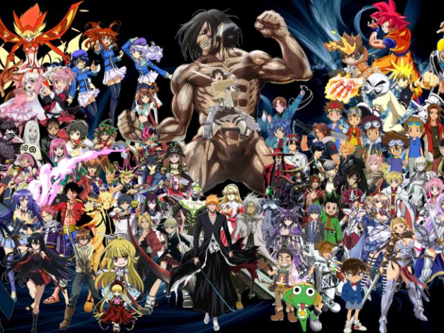 Você conhece alguns animes?