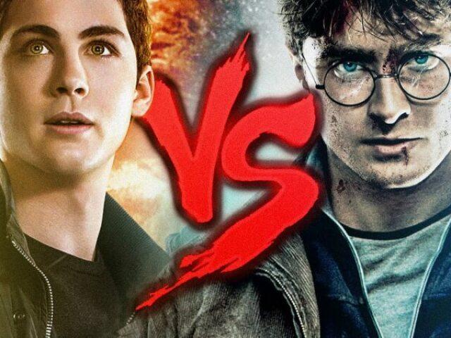 Você prefere: Harry Potter VS Percy Jackson?