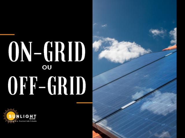 On-grid ou Off-grid?