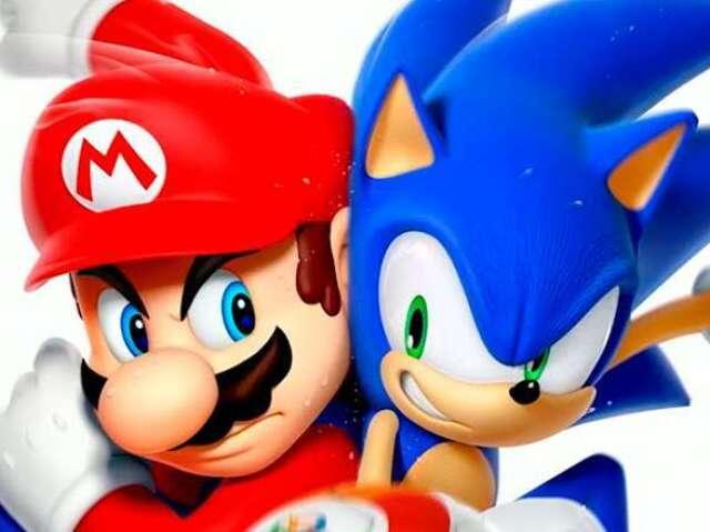 Você é mais Mario ou Sonic?