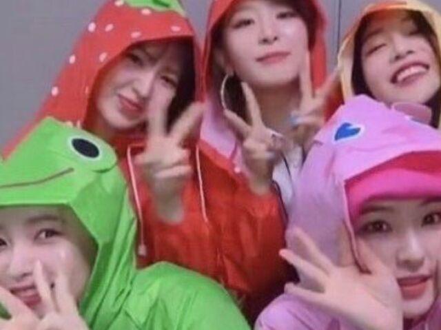 ╰ Quiz sobre o Red Velvet