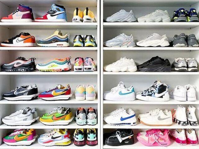 Monte seu closet de sapatos :)