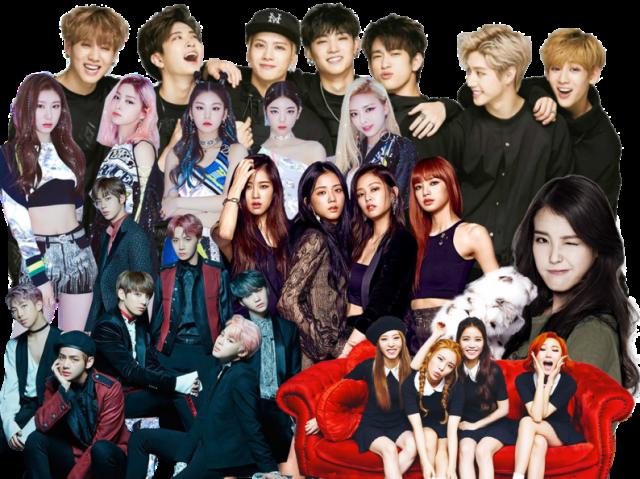 Escolha imagens e te indicarei uma música de K-pop