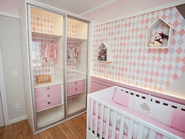 Monte o quarto da sua filha/das suas filhas