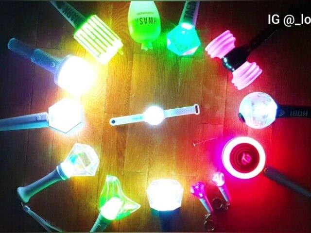 Qual é a lightstick?