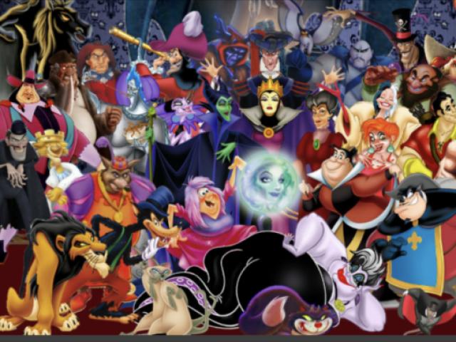 Você conhece bem os vilões da Disney?