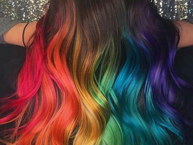 Qual tipo de cabelo pintado você teria?