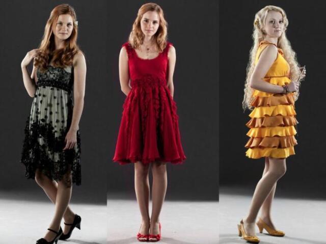 Vou adivinhar sua personagem favorita de Harry Potter: Gina Weasley, Hermione Granger, ou Luna Lovegood?