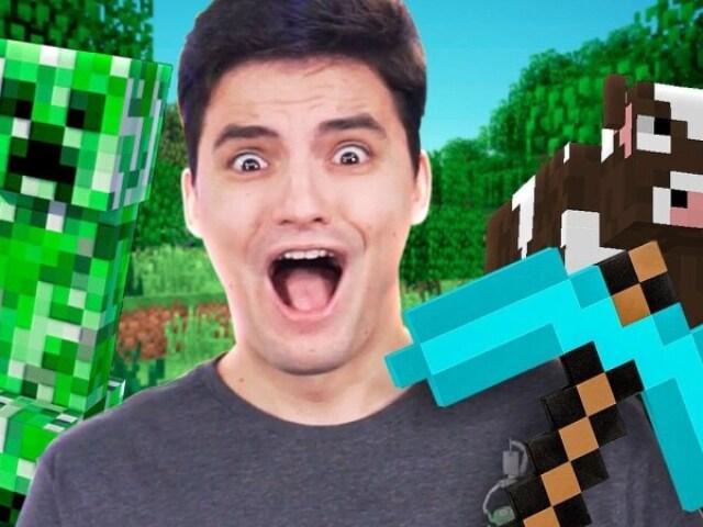 Quem você seria da saga Minecraft do Felipe Neto?