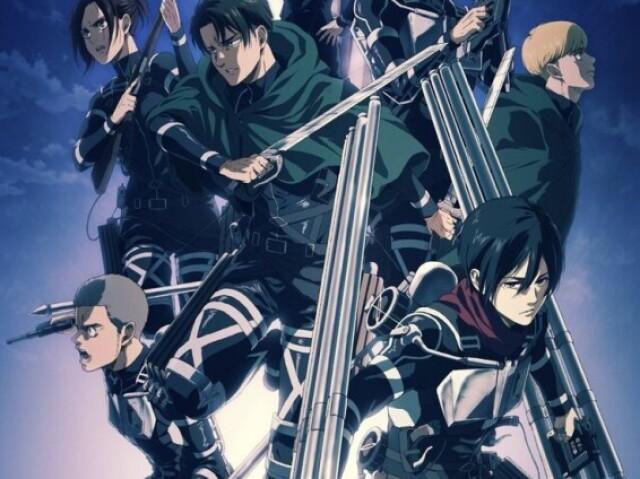 Você conhece o anime Attack on Titan?