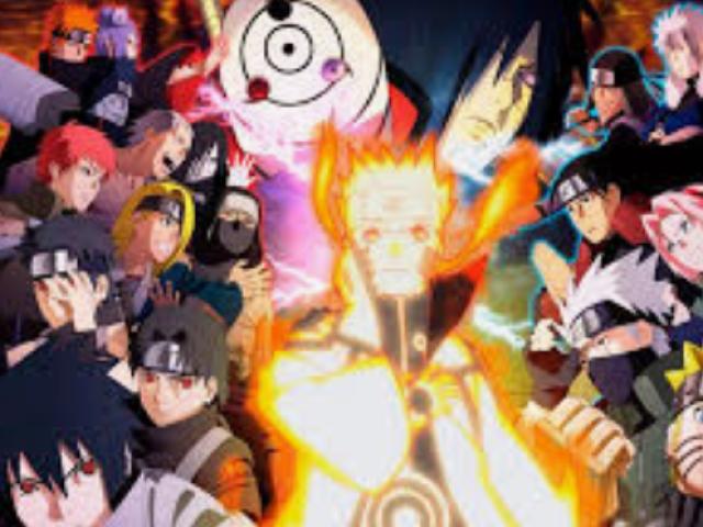 Crie seu ninja em Naruto!