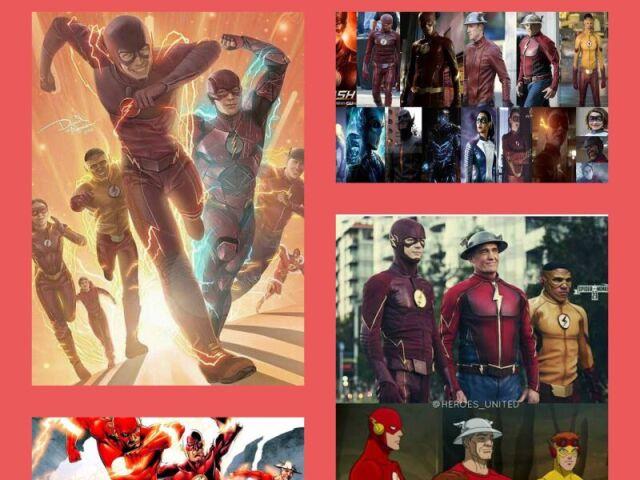 Qual velocista de The Flash você seria?
