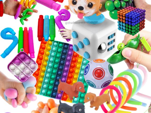 (∩^o^)⊃━☆Monte seu super kit de fidget toy