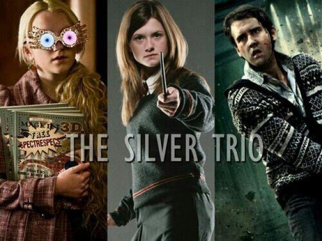 Harry Potter: Qual é o seu/sua personagem preferido(a) do Trio de Prata? Vou tentar adivinhar!