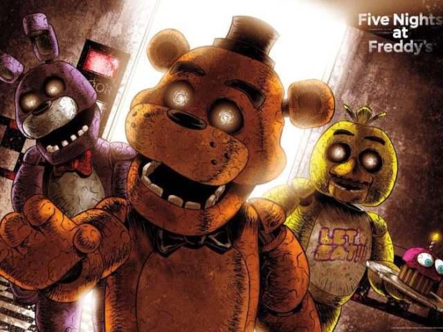 Quem você seria de Five Nights at Freddy's 1, 2 e 3?
