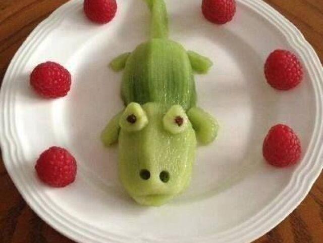 Tentando adivinhar sua fruta preferida! 🍌🍇🥝🍓