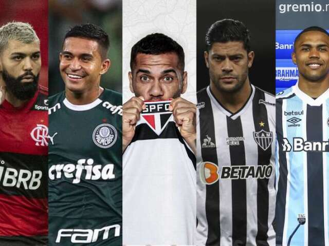 Monte seu time do Brasileirão!