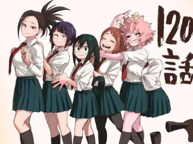 Qual garota de boku no hero você seria? <3