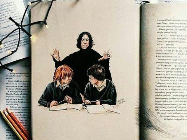 Que personagem você seria em Harry Potter?