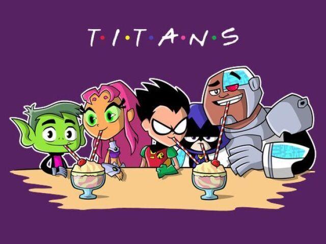 Jovens titãs: Que titã você seria?