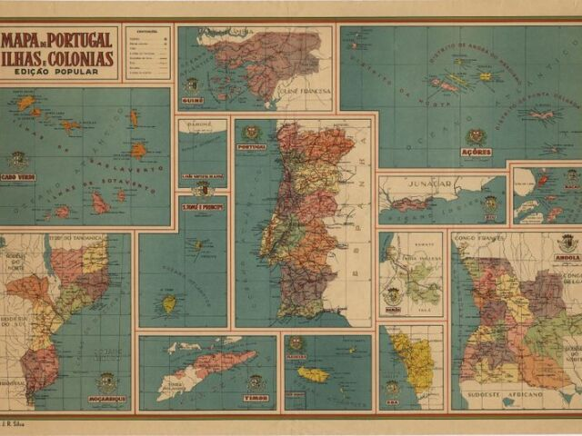 Identifica os distritos de Portugal