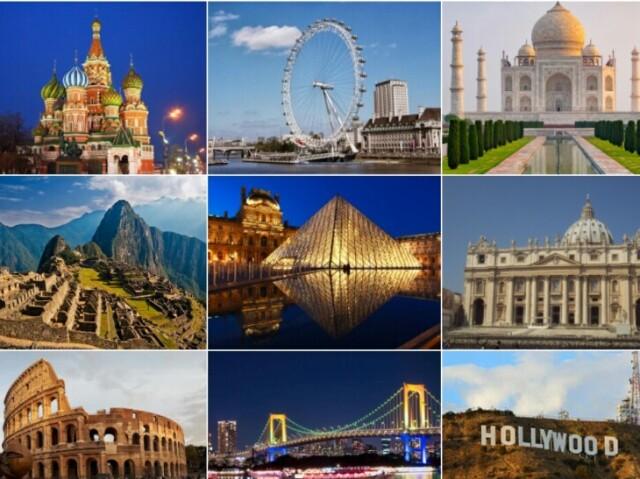 Você sabe onde ficam estes pontos turísticos?