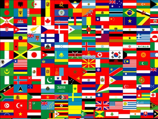 Conheces as bandeiras do Mundo?