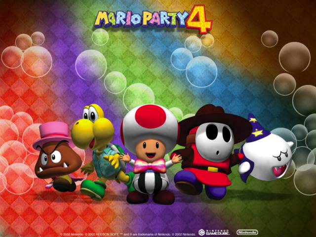 Você conhece a série Mario Party? (Jogos Gamecube)