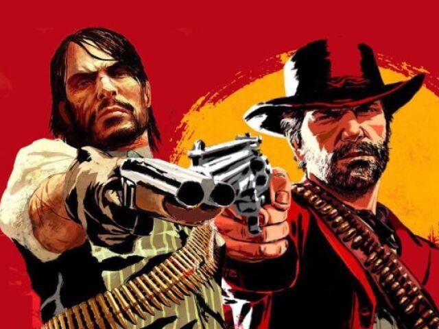 És Fã dos jogos Red Dead Redemption 1 e 2?