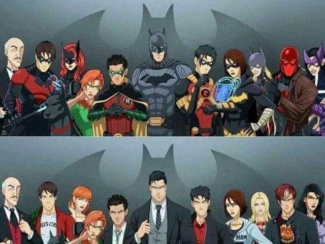 Que membro da Bat-Família você seria?