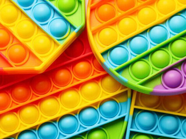Monte a sua coleção de Fidget Toys!