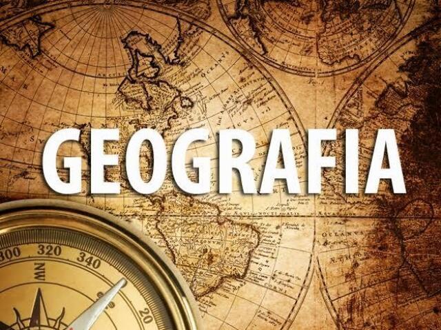 Estudos de Geografia