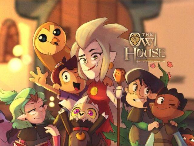 Quem você seria em The Owl House?