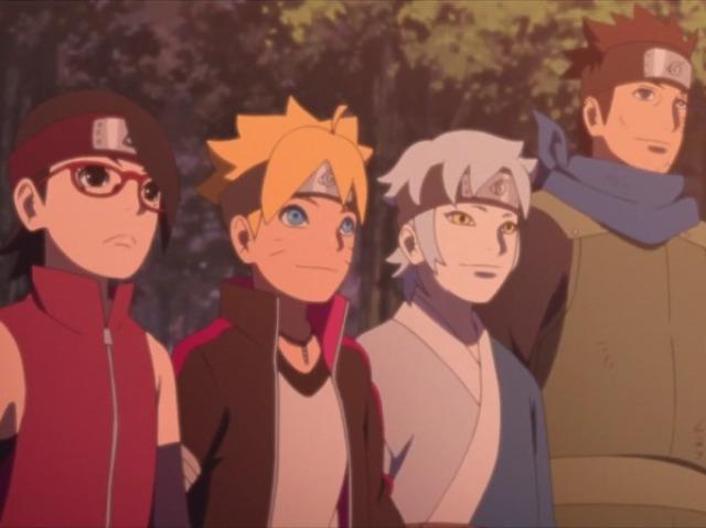 Quem você seria do time konohamaru?
