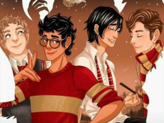Harry Potter: Qual dos Marotos seria seu namorado?