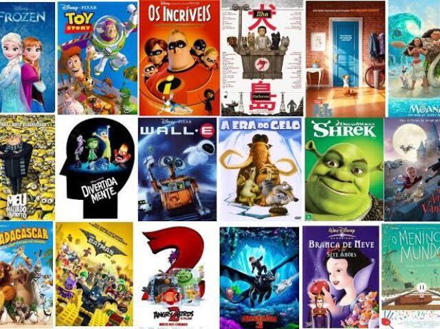 Você conhece algumas dessas animações?