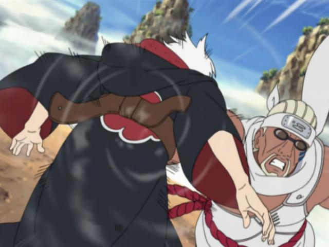 Qual Taijutsu você mais usaria em Naruto?