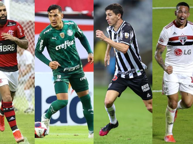 Monte seu time do Brasileirão Série A