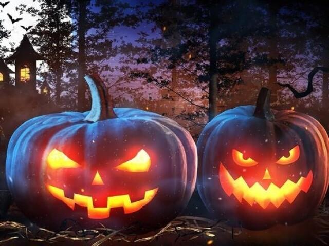 Monte sua festa de halloween 🎃🕸