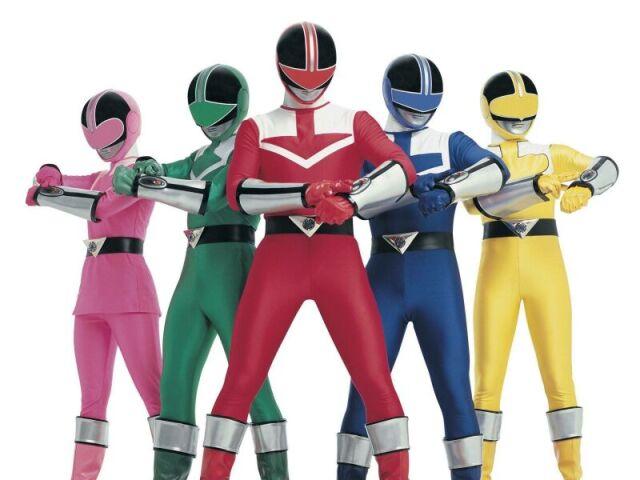 Qual Power Ranger Força do tempo você seria?