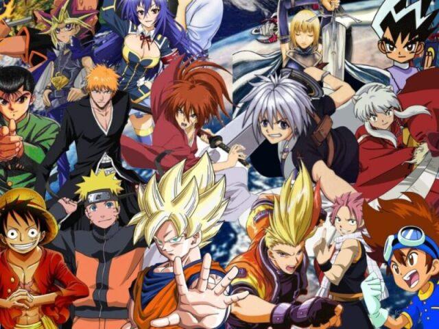 Eu duvido você acertar o nome de todos os protagonistas dos animes