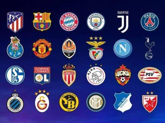 Em qual time europeu você jogaria?
