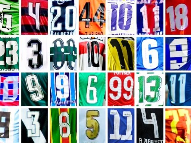 Qual o jogador pelo numero